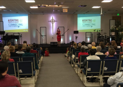 Speaking at Presbyterian Church in Highlands | Renee Lopez Coaching, RL Academy | Speaking, Workshops and Seminars | Lakeland, FL